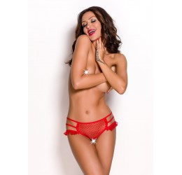 Sexy Mutandine rosse aperte 'Keira' da Anais Lingerie