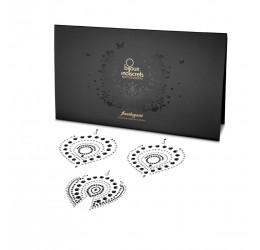 'Flamboyant' 3 Gioielli adesivi per il corpo Bijoux Indiscrets in vari colori.