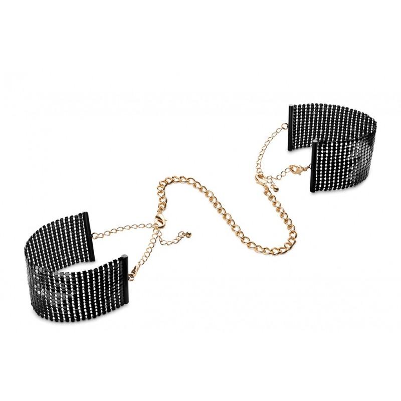 Manette nere 'Desir Metallique' - Bijoux Indiscrets