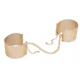 Manette dorate 'Desir Metallique' - Bijoux Indiscrets