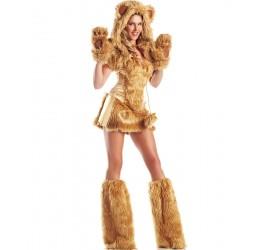 Sexy Costume dorato da orsetta BeWicked Lingerie