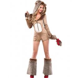 Sexy Costume da Leonessa 'Lucky Lioness' Coquette