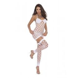 Mini Abito bianco con perizoma e calze da Elegant Moments