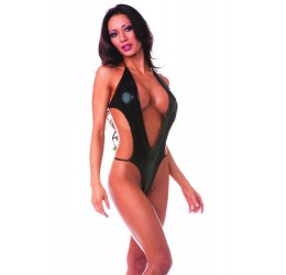 Sexy Body nero lucido taglia unica da Bodyzone