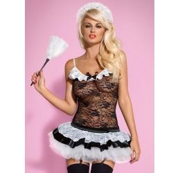 Sexy Costume da cameriera 'Housemaid' Obsessive Lingerie