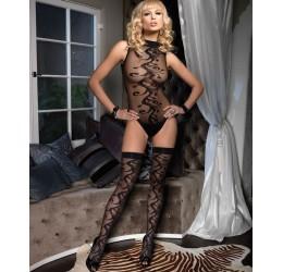 Sexy Body nero con calze da Leg Avenue