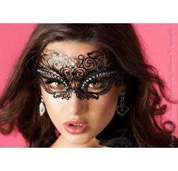 Maschera filigranata con strass, CR-3706 Chilirose