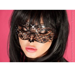 Maschera filigranata con strass, CR-3707 Chilirose