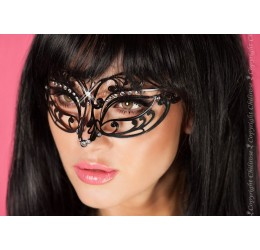 Maschera filigranata con strass, CR-3708 Chilirose