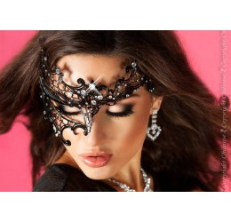 Maschera filigranata con strass, CR-3704 Chilirose