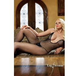 Leg Avenue catsuit bodystocking in rete