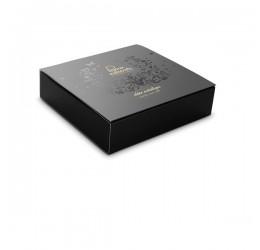 Collare in maglia metallica nera con catenelle regolabili, Bijoux Indiscrets