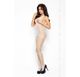 Sexy Bodystocking bianca in rete Passion Lingerie
