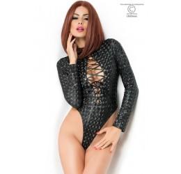 Sexy Body nero con stampa effetto 3D, CR-3814 Chilirose
