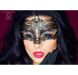 Maschera filigranata con strass, CR-3807 Chilirose