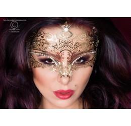 Maschera dorata filigranata con strass, CR-3805 Chilirose