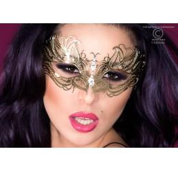 Maschera dorata filigranata con strass, CR-3806 Chilirose