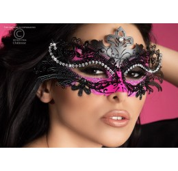 Maschera filigranata con strass, CR-3993 Chilirose