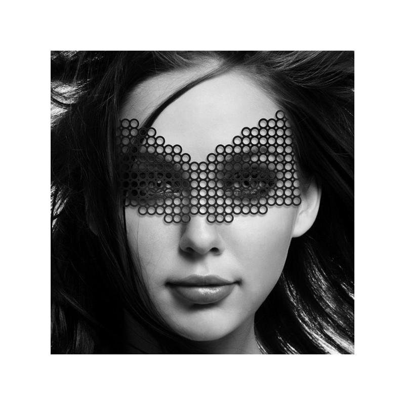 Mascherina nera in vinile 'Erika' Bijoux Indiscrets'