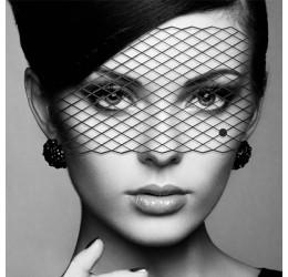 Mascherina nera in vinile 'Louise' Bijoux Indiscrets'