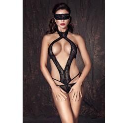 Sexy Body nero con maschera 'Alexandra' Anais Lingerie