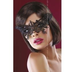 Sexy Mascherina in pizzo nero ricamato 'Model 14' LivCo