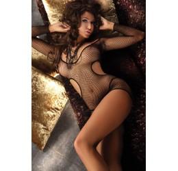 Intimo sexy Mini abito in rete e tanga 'Eveleen' LivCo