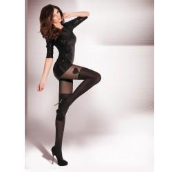 Sexy Collant neri stile parigine 'Avila' da Gabriella