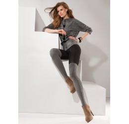 Sexy Collant neri/grigi stile parigine 'Roxy' da Gabriella