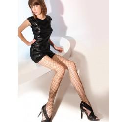 Sexy Collant neri in rete grande 'Kabarette' da Gabriella