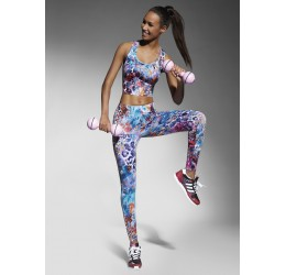 Leggings in fantasia multicolor 'Caty' Bas Bleu