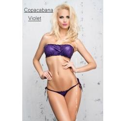 Sexy Micro Bikini viola, Reggiseno + Mutandina brasiliana
