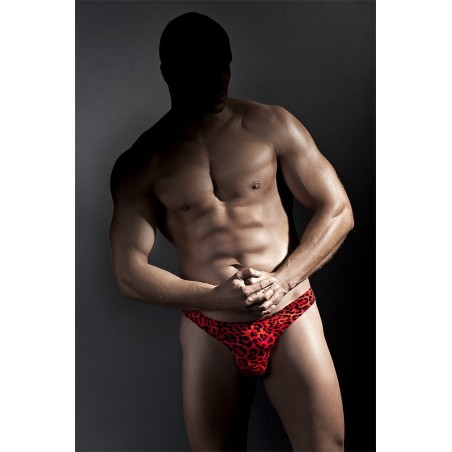'Jason' Tanga maculato rosso Anais Lingerie uomo