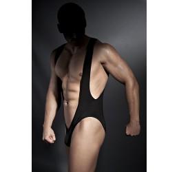 'Bryan' body aperto nero lucido Anais Intimo uomo