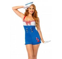 Costume da Marinaia la83638 Leg Avenue