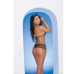Sexy Bikini in lycra elastica nera, tg. unica 38/44