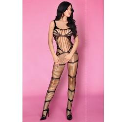 Sexy Bodystocking nera in stringhe 'Atalia' LivCo