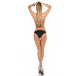Sexy Monokini costume da bagno donna intero nero