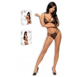 Sexy completino nero reggiseno e perizoma 'Aryana' da Beauty Night