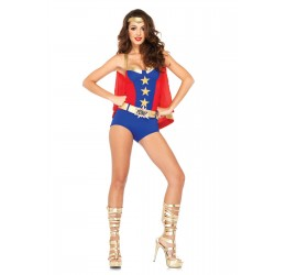 Sexy Costume da Wonder Woman la85524 Leg Avenue