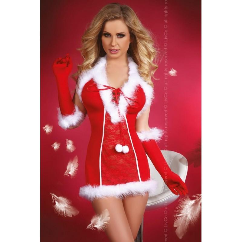 Sexy Completino natalizio 3 pezzi ' Snow Queen' da Livco