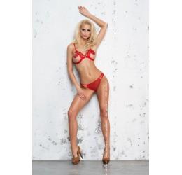 Sexy Completino rosso reggiseno e mutandine 'Nina' Me Seduce