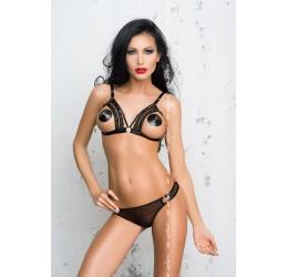 Sexy Completino nero reggiseno e mutandine 'Nina' Me Seduce