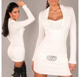 Sexy Mini Abito bianco