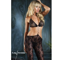 Sexy Bodystocking in rete nera