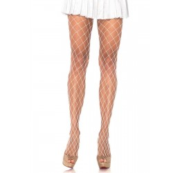 Sexy Collant bianchi in rete