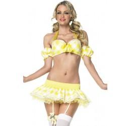 Sexy Costume da riccioli d'oro Leg Avenue