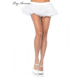Sexy Collant a rete bianchi...