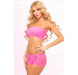 Sexy Completino rosa Top e Shorts