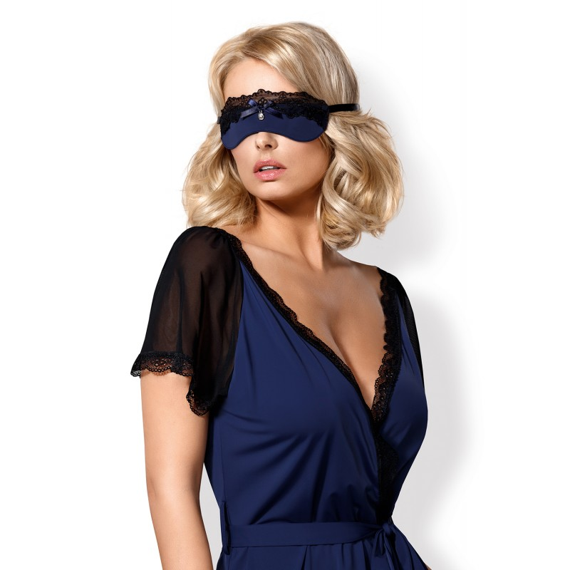 Sexy Mascherina blu